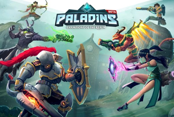 Ethernaly.it - Paladins PS4, Loading Screen
